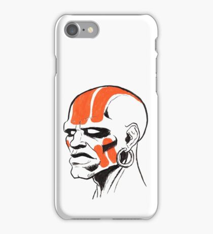 Street Fighter II Portraits - Dhalsim iPhone Case/Skin