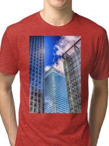 HSBC Tower London Tri-blend T-Shirt