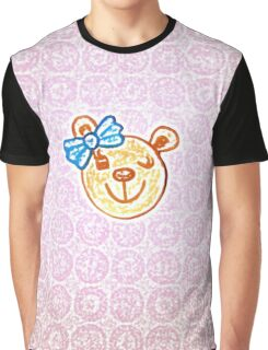 Gigi the happy bear by Nikki Ellina Graphic T-Shirt