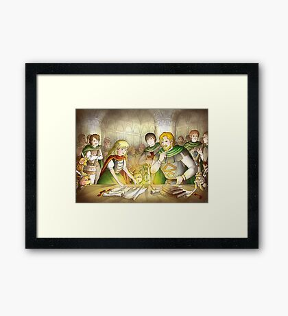 The Articles Of The Barons Framed Print