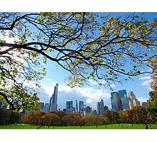 Autumn in New York City  Photographic Print