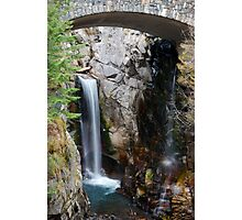 Peeking Falls Photographic Print