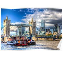 London The City Poster