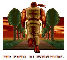RYU Street Fighter II: The Fight is everything. Photographic Print