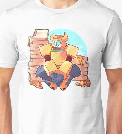 Pizza Bumblebee Unisex T-Shirt