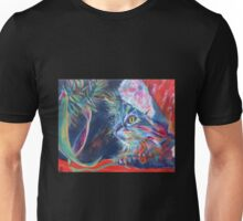Just look, don't touch. Mummy said. But, oh, it's so sparkly Unisex T-Shirt