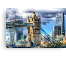 Tower Bridge and the City Canvas Print