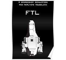 FTL black Poster