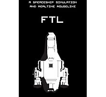 FTL black Photographic Print