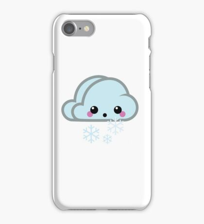 Mood Swing  -  Snow Cloud iPhone Case/Skin