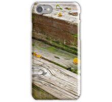 Fall Wood Stairway iPhone Case/Skin
