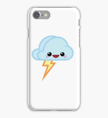 Mood Swing  -  Happy Lightning iPhone Case/Skin