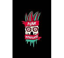 Punk Renegade Photographic Print