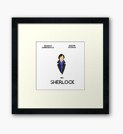 Sherlock Minimalist 1 Framed Print