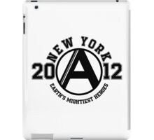 Earth's Mightiest Heroes College iPad Case/Skin