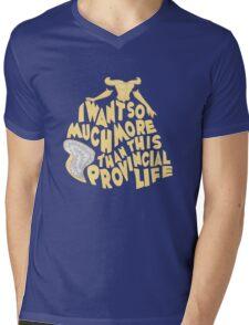Provincial Life Mens V-Neck T-Shirt