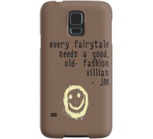 BORED VILLIAN 1 Samsung Galaxy Case/Skin