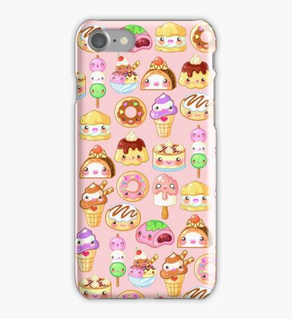 Kawaii Desserts  iPhone Case/Skin