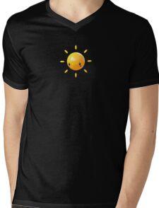 Mood Swing  -  3D sun. Mens V-Neck T-Shirt