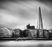 The Shard and City Hall London by Ian Hufton