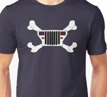 Jeep and Crossbones Unisex T-Shirt