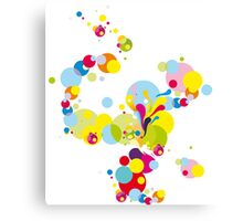 Fireworks; Abstract Digital Vector Art Canvas Print