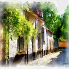 Lier - Beguinage Street - Belgium by Gilberte