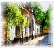 Lier - Beguinage Street - Belgium Photographic Print