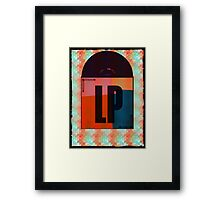 Vinyl Record Love Framed Print