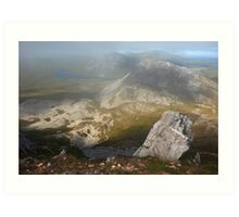 In The Clouds On Errigal Art Print