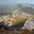 In The Clouds On Errigal by Adrian McGlynn