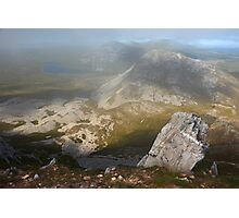 In The Clouds On Errigal Photographic Print