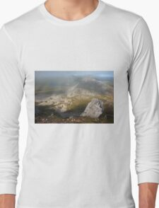 In The Clouds On Errigal Long Sleeve T-Shirt