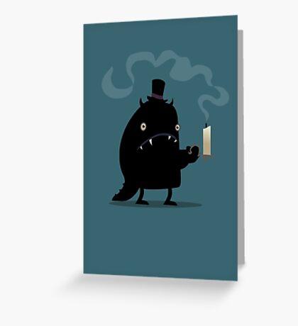 Night monster Greeting Card