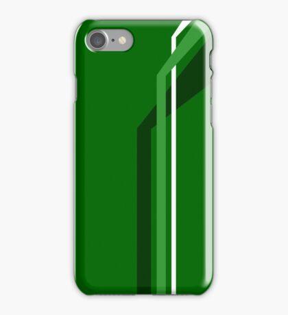 Flying Vanes - Green iPhone Case/Skin