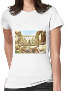 The Army Of God Captures London Womens Fitted T-Shirt