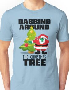 DABBING AROUND THE CHRISTMAS TREE T-SHIRT  Unisex T-Shirt