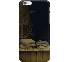 Books and notes iPhone Case/Skin