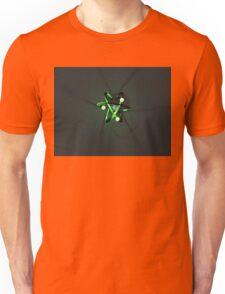 Glowing Green Atom Unisex T-Shirt