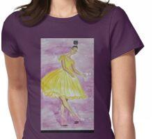 La Belle Noir Womens Fitted T-Shirt