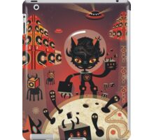 Dj Hammerhand cat - Party at OGM garden iPad Case/Skin