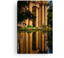 Classical Reflection Canvas Print