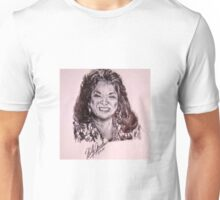 Ink Pen Portrait of Della Reese  Unisex T-Shirt