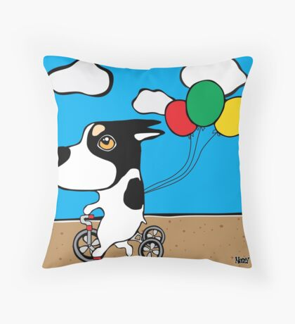 Major - Tricycle Throw Pillow