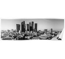 LA Downtown Poster