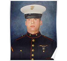 PFC Garrod Palmer, USMC Poster