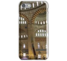 Interior of Selimiye Mosque, Edirne, Turkey iPhone Case/Skin