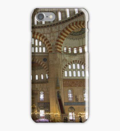 Interior of Selimiye Mosque, Edirne, Turkey iPhone Case/Skin