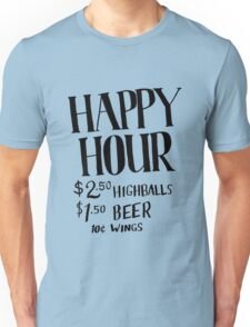 Happy Hour Drink Special Unisex T-Shirt