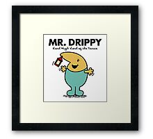 Mr. Drippy Framed Print